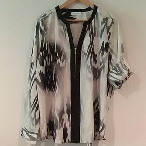 Calvin Klein womens blouse